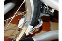 Brzdící set pro dětské vozíky Croozer