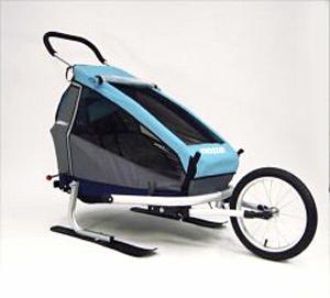 Lyžařský set pro dětský vozík Croozer