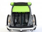 Dětský vozík Croozer Kid for 2, zelený